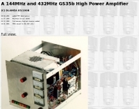 DL4MEA  144MHz and 432MHz Amplifier