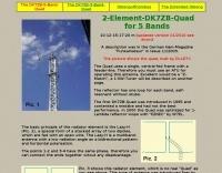 DXZone 2-Element-DK7ZB-Quad for 5 Bands