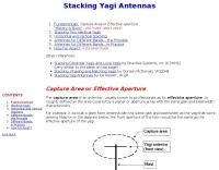 Stacking Yagi Antennas