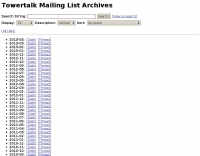 Towertalk Archives
