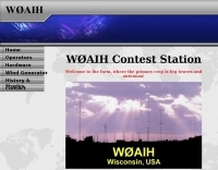 W0AIH Contest Station
