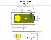 432 MHz Power amp