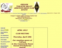 Oregon Tualatin Valley Amateur Radio Club