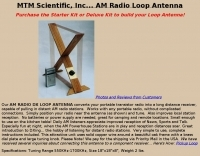MTM Scientific Radio Loop Antenna