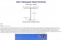 20m T-Monopole