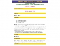 DXZone SARTG New Year RTTY Contest