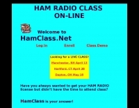 On Line Ham Radio Class