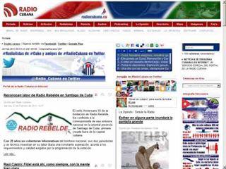 Portal de la Radio Cubana