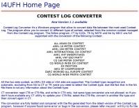 Contest Log Converter