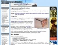 Biquad Antenna Construction