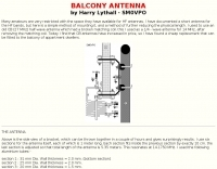 DXZone HF Balcony antenna