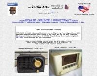 Antique Radios at the The Radio Attic