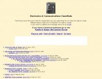 Electronics & Communications Classifieds
