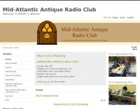 DXZone Mid Atlantic Antique Radio Clun