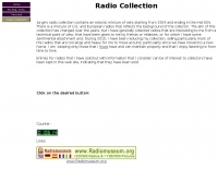 DXZone Jorge's radio collection