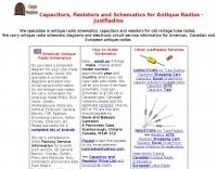 DXZone Antique Radio Schematics and Capacitors for Tube Radios