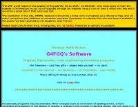 G4FGQ Antenna programs