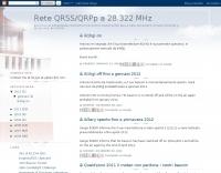 Rete QRSS/QRPp a 28.322 MHz