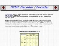 DXZone DTMF encoder