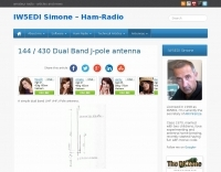 DXZone 144/430 dualband J-Pole antenna