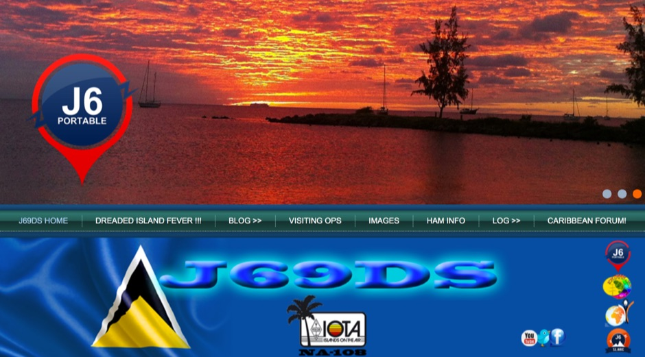 J6 St.Lucia DX Shack
