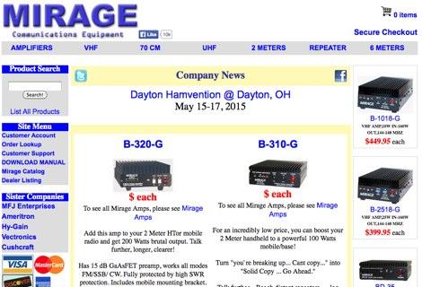DXZone Mirageamp Manuals
