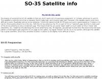 DXZone SO-35 Satellite page