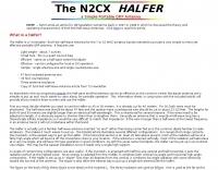 Halfer End-Fed Halfwave Antenna