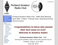 Portland Amateur Radio Club