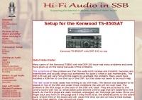 HI-FI Audio with Kenwood TS-850SAT