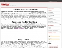 DXZone W6JW Santa Clarita Amateur Radio Club