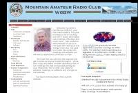 DXZone  W6BW Mountain Amateur Radio Club