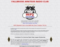 N6FQ  Fallbrook Amateur Radio Club