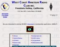 DXZone WC6ARC West Coast Amateur Radio Club