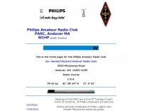 W1HP Philips Amateur Radio Club