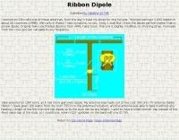 Ribbon Dipole