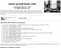 David Sarnoff Radio Club