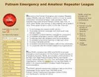Putnam Emergency and Amateur Repeater League