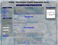 Rochester Radio Repeater Association
