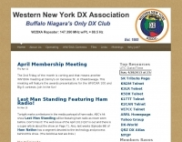 DXZone WNYDXA  Western New York DX  Assocation