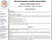 W5VV Alcatel Amateur Radio Association