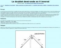 DXZone Inverted V antenna