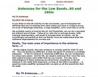Low bands antennas