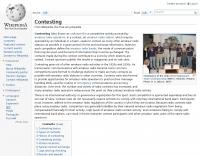 DXZone Contesting at Wikipedia