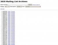 DXZone 3830 Archives