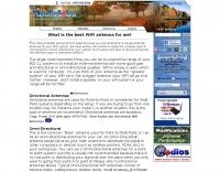Selecting a WiFi antenna