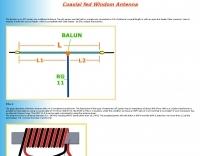 Windom Antenna with 4:1 balun