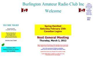 VE3RSB Burlington amateur radio club