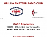 VE3ORC Orilla Amateur Radio Club