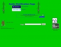 DXZone Repeaters: radio modification page